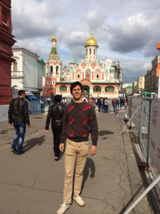 Visiting the Red Square the day after my arrival