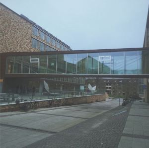 The business school campus