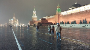 Visiting Red Square in Moscow