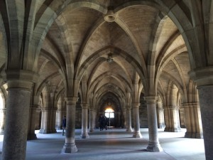 The main building of the University of Glasgow was so gorgeous. I was so happy hearing my parent said they felt so proud of me.