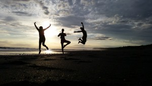 Our favorite sunset jump shot