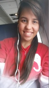 Plane ride and Roll Tide!
