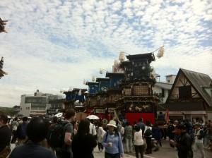 Festival in the spring