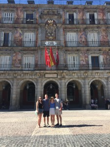 La Plaza Mayor in Madrid