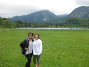Ashton Reaves and me hanging out in the German countryside of Hohenschwangau.