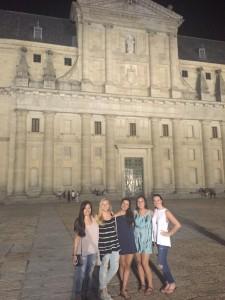 Our last night at El Escorial