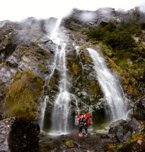 571 Feet Waterfall, Routeburn Track