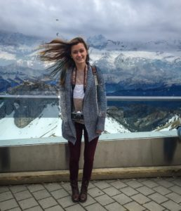 At the top of the Alps!