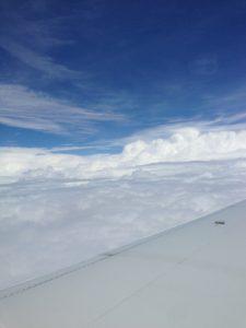 Somewhere over the Atlantic